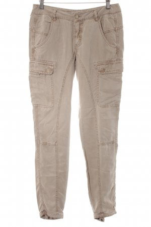 Comma Cargo Pants camel street-fashion look
