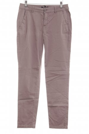 Comma Chino mauve casual uitstraling