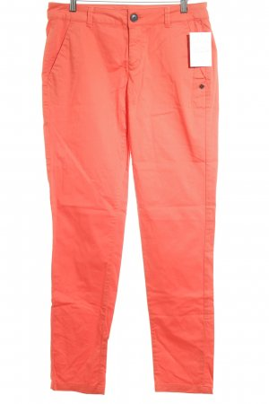 Comma Chinohose lachs Casual-Look