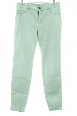 Comma Chinos meadow green casual look