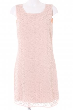 Comma Cocktailkleid rosé abstraktes Muster Elegant