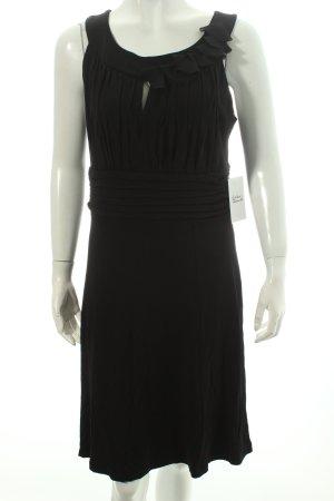 Comma Cocktailkleid schwarz Eleganz-Look