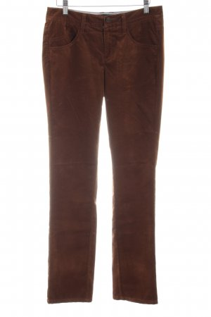 Comma Corduroy Trousers brown casual look