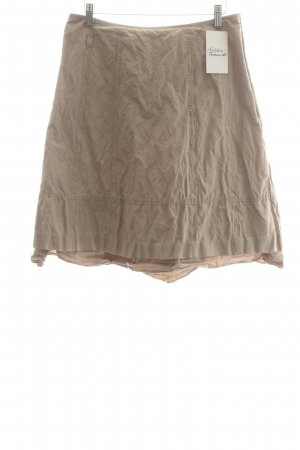 Comma Falda estilo Crash beige elegante