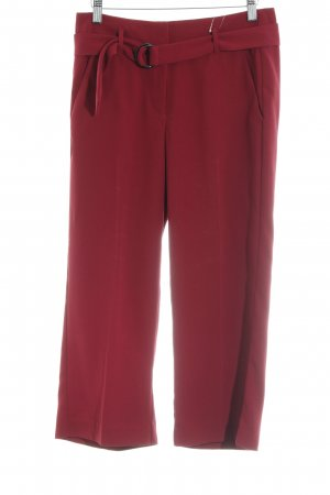 Comma Culottes dunkelrot Casual-Look