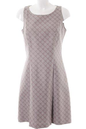 Comma Cut-Out-Kleid graulila-weiß schlichter Stil