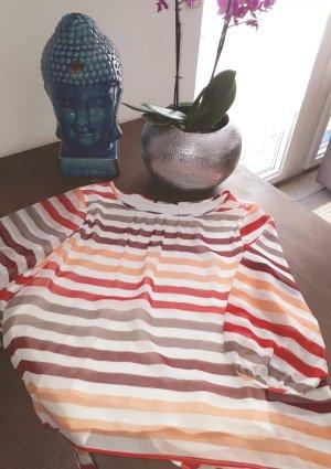 Comma Slip-over blouse veelkleurig