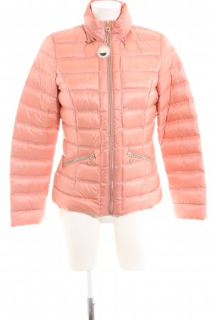 Comma Daunenjacke pink Steppmuster Casual-Look