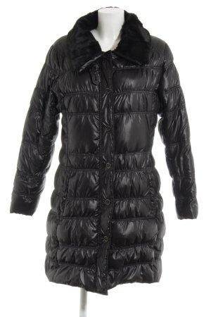 Comma Down Coat black casual look