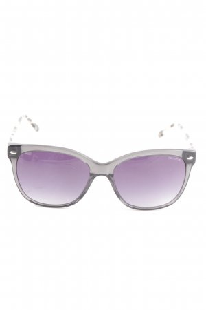 Comma Angular Shaped Sunglasses grey-nude casual look