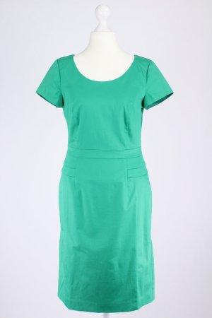 Comma Etuikleid grün Größe 34