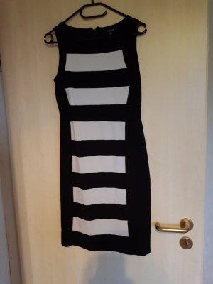 Comma Vestido ceñido de tubo negro