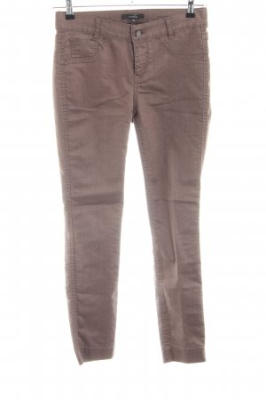 Comma Five-Pocket-Hose braun Casual-Look