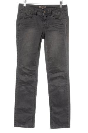 Comma Five-Pocket-Hose dunkelgrau Street-Fashion-Look