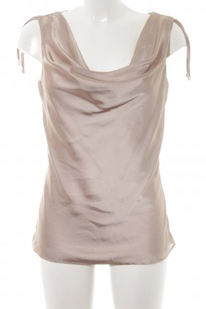 Comma Glanzende blouse goud elegant