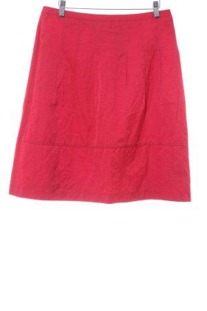 Comma Falda acampanada rojo elegante