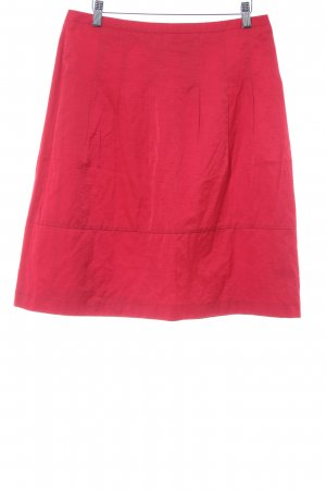 Comma Jupe évasée rouge élégant