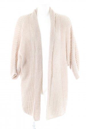 Comma Coarse Knitted Jacket dusky pink casual look