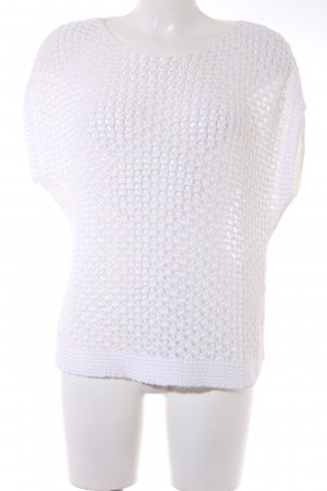 Comma Crochet Shirt natural white casual look
