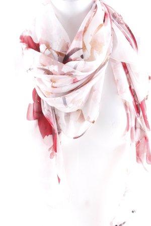 Comma Pañoleta estampado floral estilo romántico