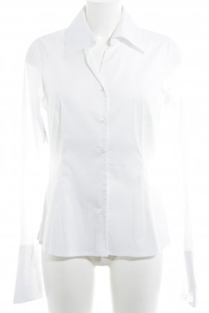 Comma Hemd-Bluse weiß Business-Look