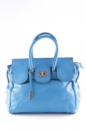 Comma Bolso barrel azul look casual
