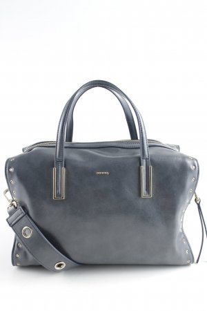 Comma Bolso barrel gris pizarra-color oro estilo «business»