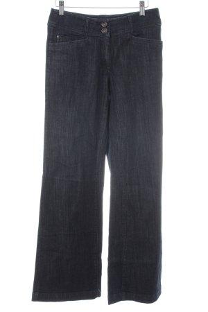 Comma High Waist Jeans dunkelblau Casual-Look