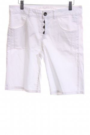 Comma High-Waist-Shorts white casual look