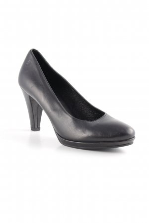 Comma Hochfront-Pumps schwarz Business-Look