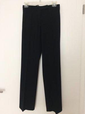 Comma Stoffen broek zwart Gemengd weefsel