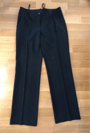Comma Pantalon à pinces noir