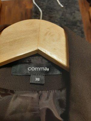 Comma Tailleur pantalone marrone scuro