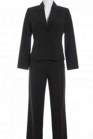Comma Trouser Suit dark brown business style