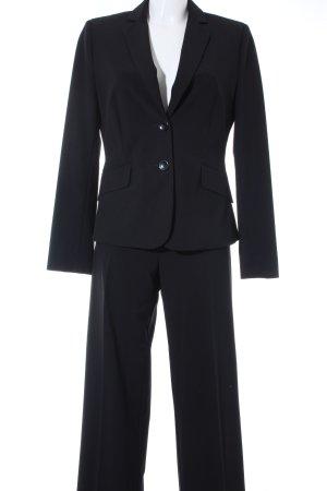 Comma Tailleur-pantalon noir style d'affaires