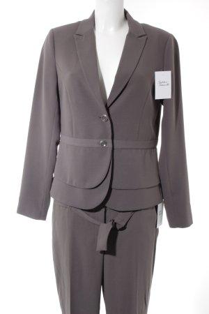 Comma Tailleur-pantalon taupe style d'affaires