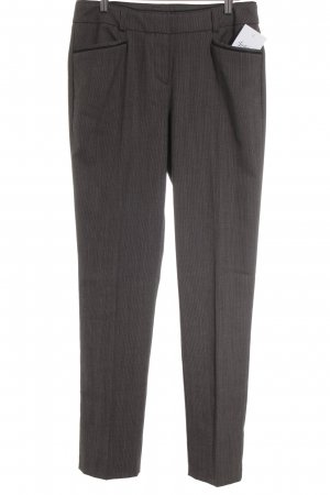 Comma Low-Rise Trousers taupe-grey brown business style