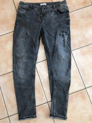 Comma Jeans Boyfriend Gr 40 Grau Neu