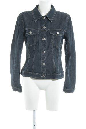 Comma Spijkershirt veelkleurig Jeans-look