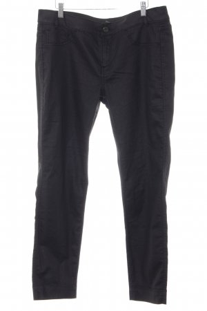 Comma Jegging gris anthracite-noir style simple