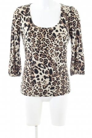 Comma Twin Set tipo suéter leopard pattern casual look