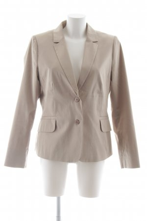 Comma Jerseyblazer camel-weiß Business-Look
