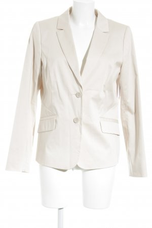 Comma Jerseyblazer creme Business-Look