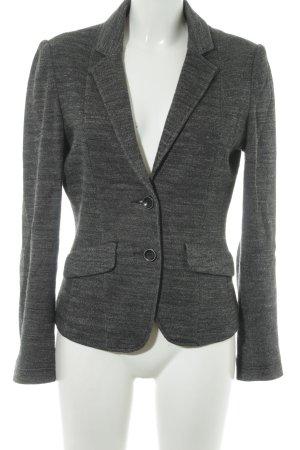 Comma Jersey Blazer marrón grisáceo-gris claro moteado elegante