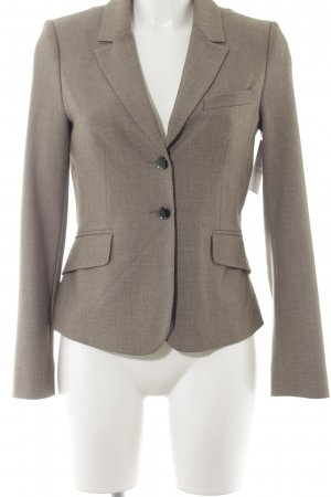 Comma Jerseyblazer hellbraun meliert Business-Look
