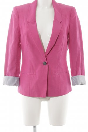 Comma Jerseyblazer magenta Casual-Look