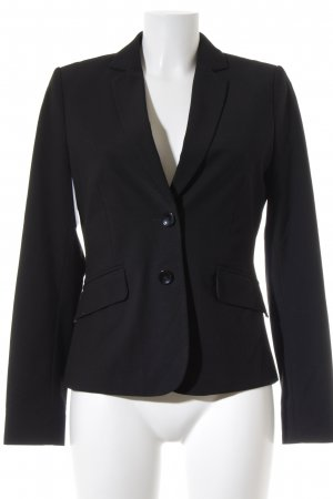 Comma Jerseyblazer schwarz Business-Look