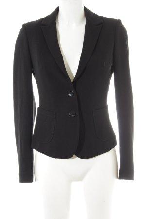 Comma Jersey Blazer negro look casual