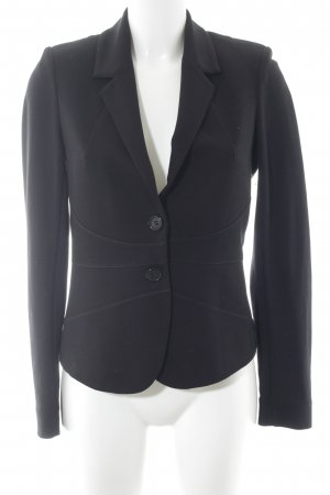 Comma Jerseyblazer schwarz Casual-Look