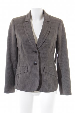 Comma Jerseyblazer schwarz-grau Business-Look